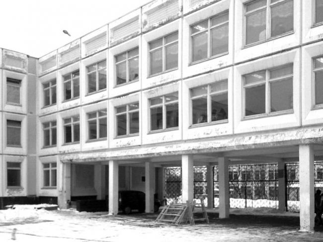 Реновация школы №1273. До реновации © Архитектурное бюро Асадова