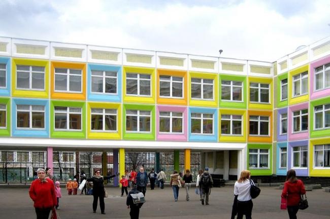 Реновация школы №1273 © Архитектурное бюро Асадова