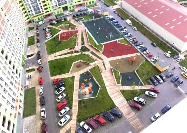 Благоустройство жилого комплекса «Архимед»