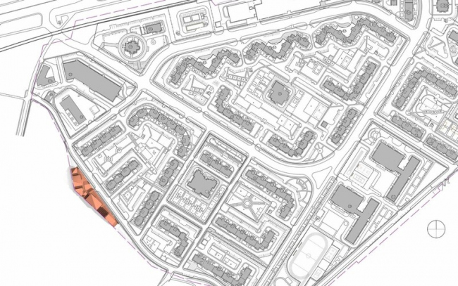 Центр русской культуры в мкрн «Солнцево-Парк». Проект, 2013 © Архитектурная мастерская Асадова