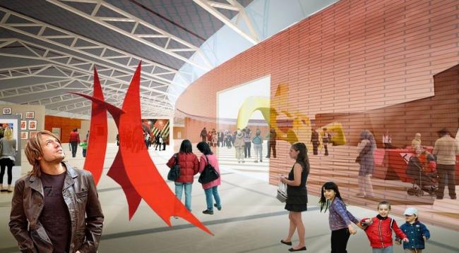 Мельников-гараж. Проект, 2011 © Архитектурное бюро Асадова