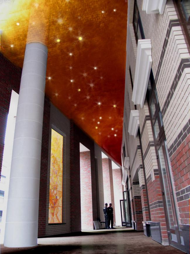 Жилищно-коммерческий комплекс «Коперник» © Архитектурная мастерская Сергея Ткаченко