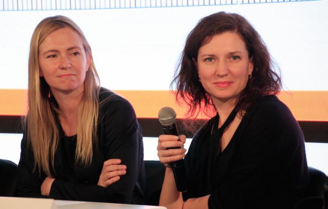 Ольга Алексакова и Юлия Бурдова, партнеры BUROMOSCOW. Фотография © Юлия Тарабарина, Архи.ру