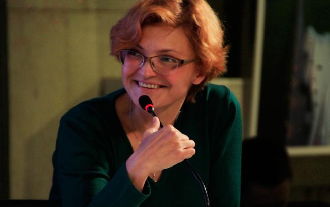 Елена Петухова, СМА. Фотография © Юлия Тарабарина, Архи.ру