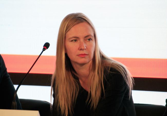 Ольга Алексакова, партнер BUROMOSCOW. Фотография © Юлия Тарабарина, Архи.ру