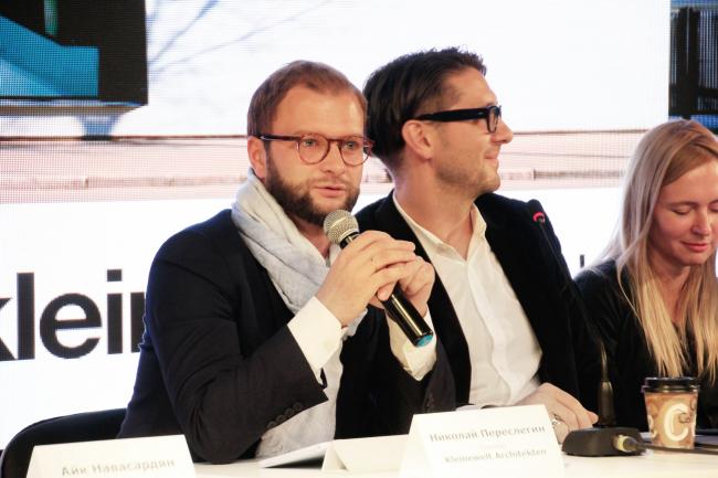 Николай Переслегин, партнер бюро Kleinewelt Architekten. Фотография © Юлия Тарабарина, Архи.ру