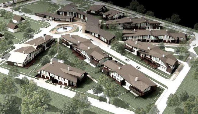 Коттеджный поселок «Freedom». Проект, 2008 © Архитектурная мастерская Асадова