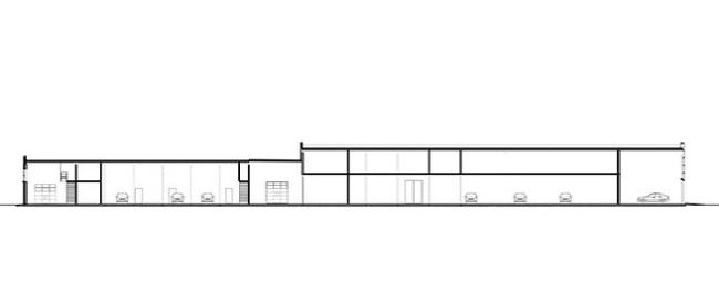Автосалон «Infinity». Реализация, 2006 © Архитектурное бюро «А.Лен»
