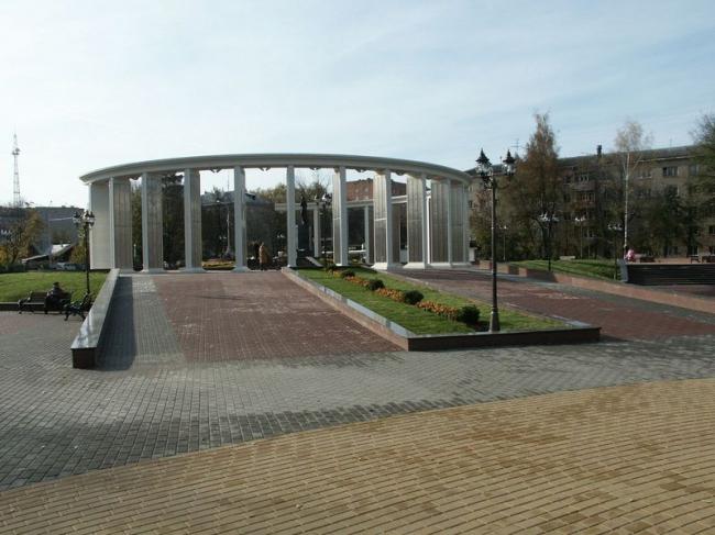 Мемориально-парковый комплекс в г. Пушкино © ГрандПроектСити