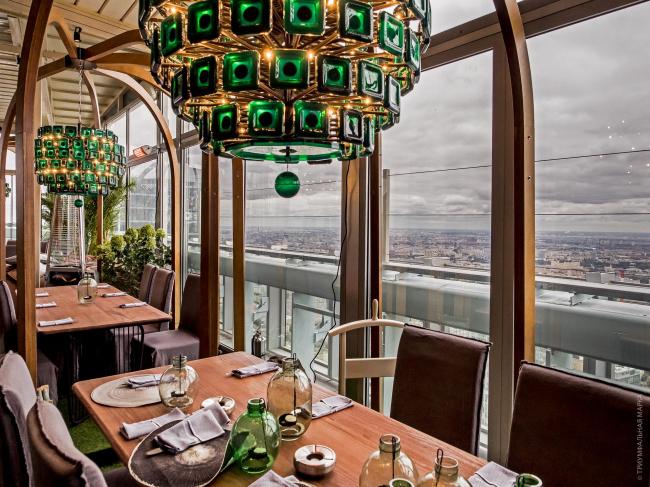 Ресторан 354 exclusive height. Фотография предоставлена компанией «Триумфальная марка»