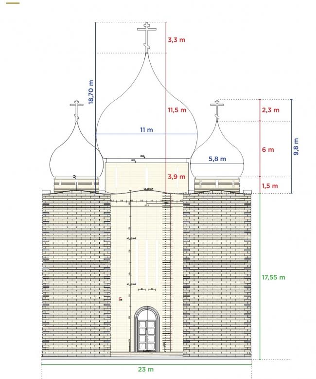 Духовно-культурный центр и собор Св. Троицы © Wilmotte & Associés