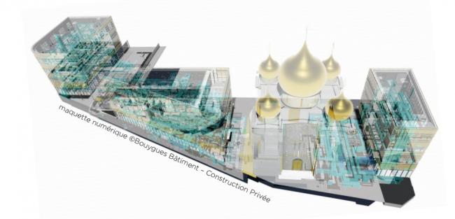 Духовно-культурный центр и собор Св. Троицы © Bouygues Bâtiment Ile-de-France