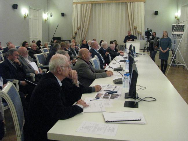 Заседание градсовета в Санкт-Петербурге. 26.10.2016. Фотография © Ирина Бембель