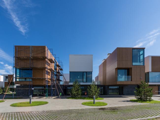 Инновационный центр «Сколково. Технопарк». Жилой квартал №10 © UNK project