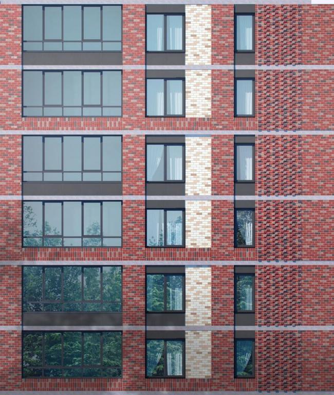 "Housing complex ""Russian Avant-garde"", Project, 2016 © A.Len"