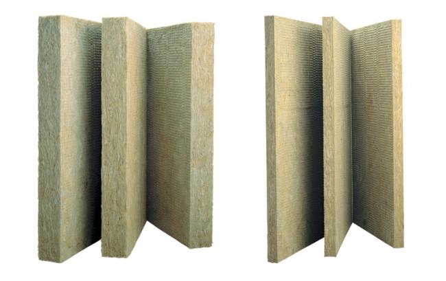 Слева: плиты РУФ БАТТС В ОПТИМА, справа: РУФ БАТТС В ЭКСТРА © ROCKWOOL
