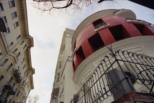 Жилой комплекс на улице Машкова, 1/11 © Архитектурная мастерская Сергея Ткаченко