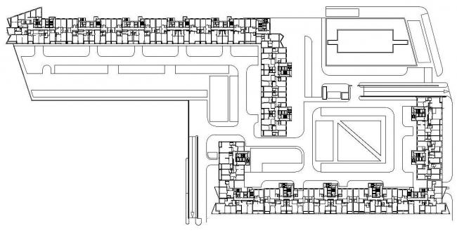 Многофункциональный жилой комплекс «Аэробус» © ТПО «Резерв»