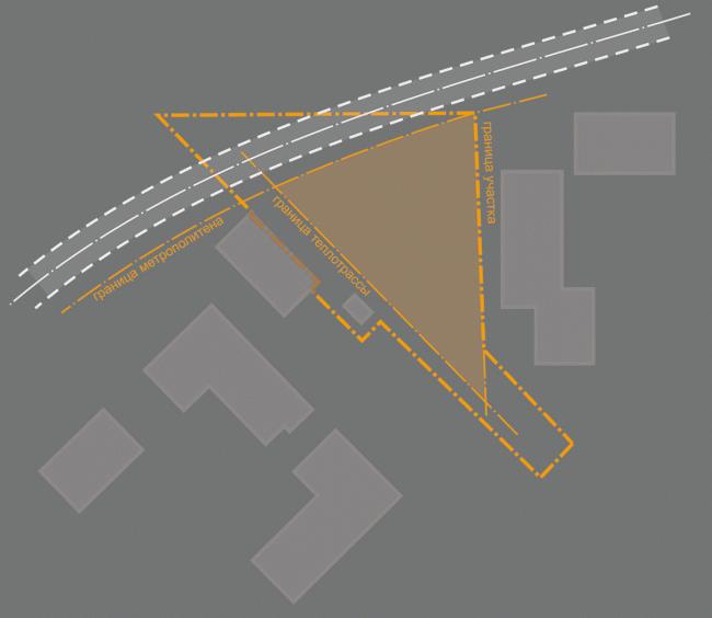 Многоквартирный жилой дом на ул. Орджоникидзе. Анализ территории участка. Проект, 2016 © Сити-Арх