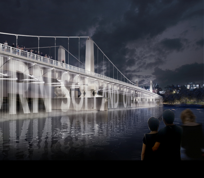 Концепция освещения Темзы © MRC, Diller Scofidio + Renfro