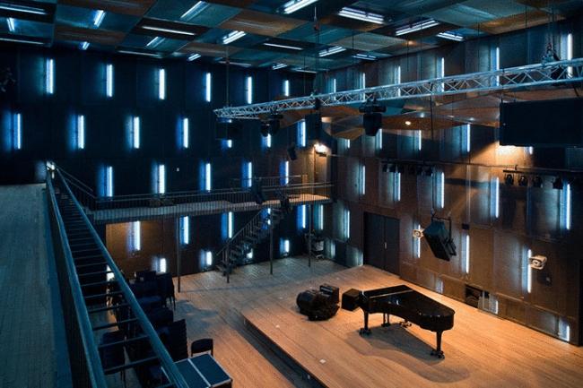 Амстердамская Консерватория. Один из концертных залов. Фото © Daria Scagliola & Stijn Brakkee