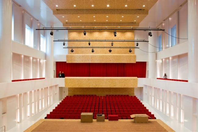 Амстердамская Консерватория. Большой концертный зал. Фото © Daria Scagliola & Stijn Brakkee