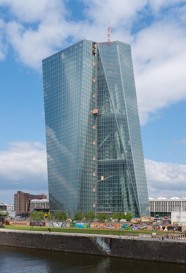 Европейский Центральный Банк. Фото: Norbert Nagel via Wikimedia Commons. Лицензия CC-BY-SA-3.0