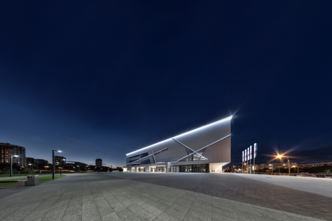 Sports complex of SKA hockey club. Implementation, 2016 © A.Len Architectural Bureau