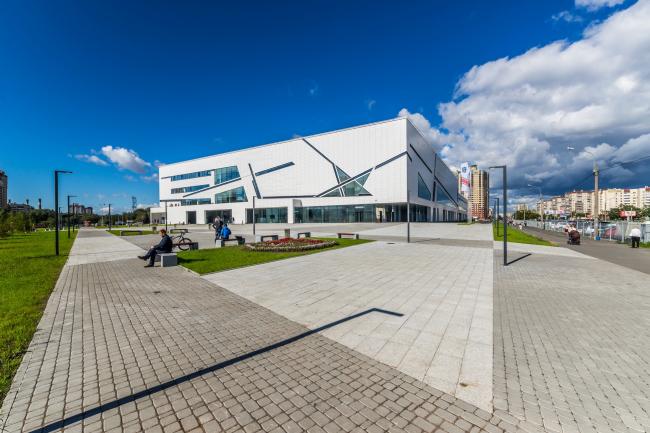 Sports complex of SKA hockey club. Implementation, 2016 © A.Len Architectural Bureau