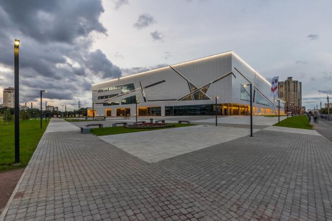 Спортивный комплекс хоккейного клуба СКА. Реализация, 2016 © А.Лен