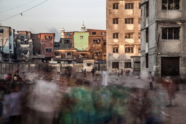 Категория «Здания в действии». Автор: Torsten Andreas Hoffman. Трущобы Дхарави (Мумбаи, Индия)