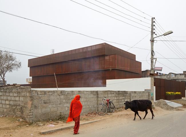 Категория «Внешний вид». Автор: Edmund Sumner. Плетёный дом (Кашмир, Индия). Архитектурное бюро: sP+A Architects (Sameep Padora)