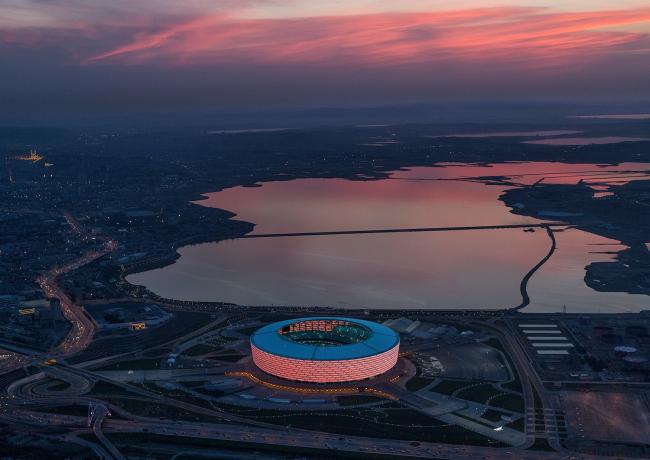 Категория «Чувство места». Автор: Victor Romero. Бакинский олимпийский стадион (Азербайджан). Архитектурное бюро: ROSSETTI и Heerim Architects