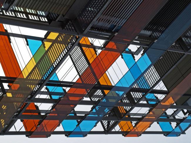 Фасад здания детской клиники при медицинском университете (Гейдельбер, Германия). Десятое место Az W Photo Award 2016 © Norbert Groeben