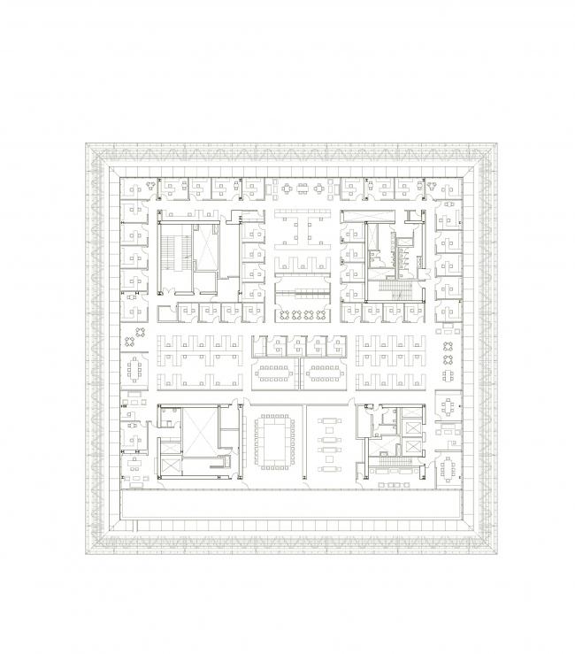 Смитсоновский национальный музей афроамериканской истории и культуры. Предоставлено David Adjaye Associates