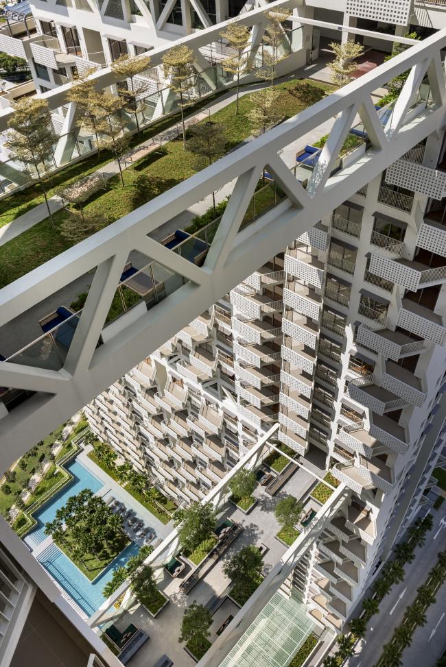 Sky Habitat © Safdie Architects, Edward Hendricks