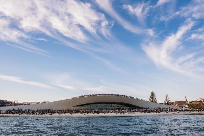 Открытие Музея искусства, архитектуры и технологии (MAAT) © EDP Foundation