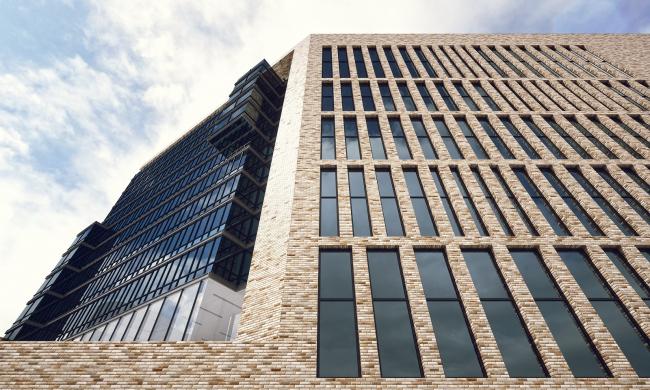 Фрагмент фасада. Проект, 2016 © Архитектурное Бюро ОСА