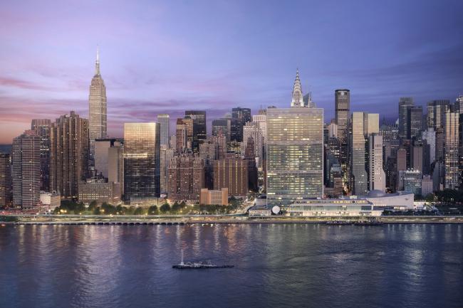 Башня 685 First Avenue. Изображение: bloomimages