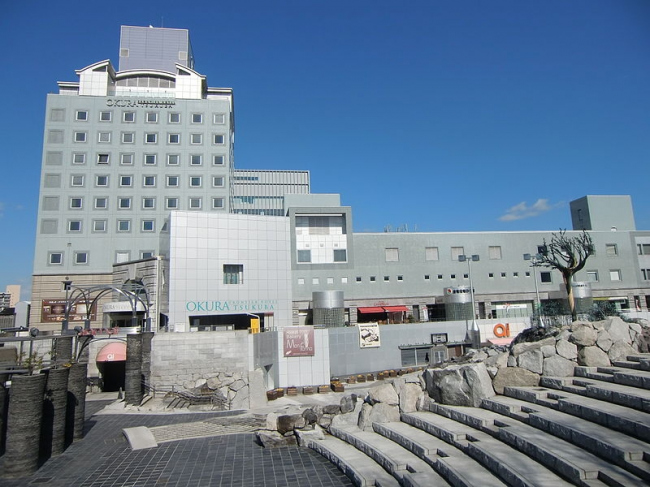 Комплекс «Цукуба-центр». Фото: On-chan via Wikimedia Commons. Лицензия CC-BY-SA-3.0
