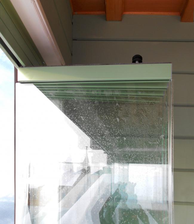 Дачный дом в Козино. Фотография: предоставлена Студией Архитектуры Подвижного Стекла ЮБК