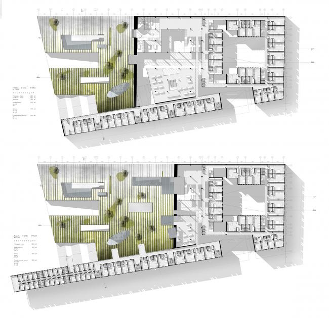 МАРХИ Золотая медаль  Мария Финагина Дипломный проект Студенческий многофункциональный жилой комплекс в