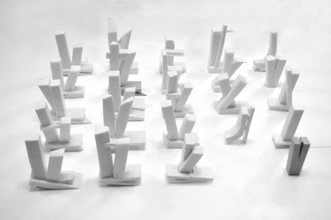 Диплом II степени.  Максим Матвеев.  Дипломный проект «Многофункциональный высотный гостиничный комплекс на Ленинградском проспекте». Варианты форм