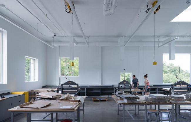 Корпус изобразительных искусств Университета Айовы © Iwan Baan