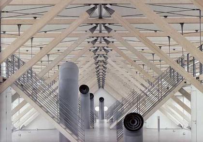 Франсуазе-Элен Журда. Лионская Школа Архитектуры в Воз-ан-Влан (1987)