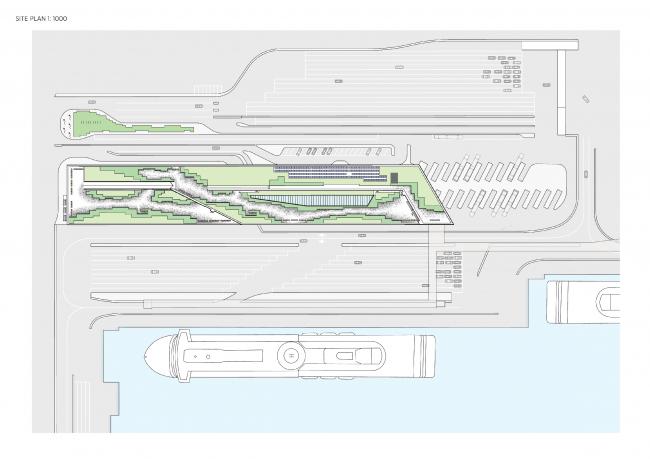 Паромный терминал Värtaterminalen © C.F. Møller Architects