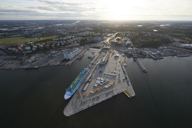 Паромный терминал Värtaterminalen © Stockholms Hamnar / Per-Erik Adamsson