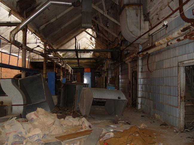 Фабрика «Красная роза». Состояние до реконструкции