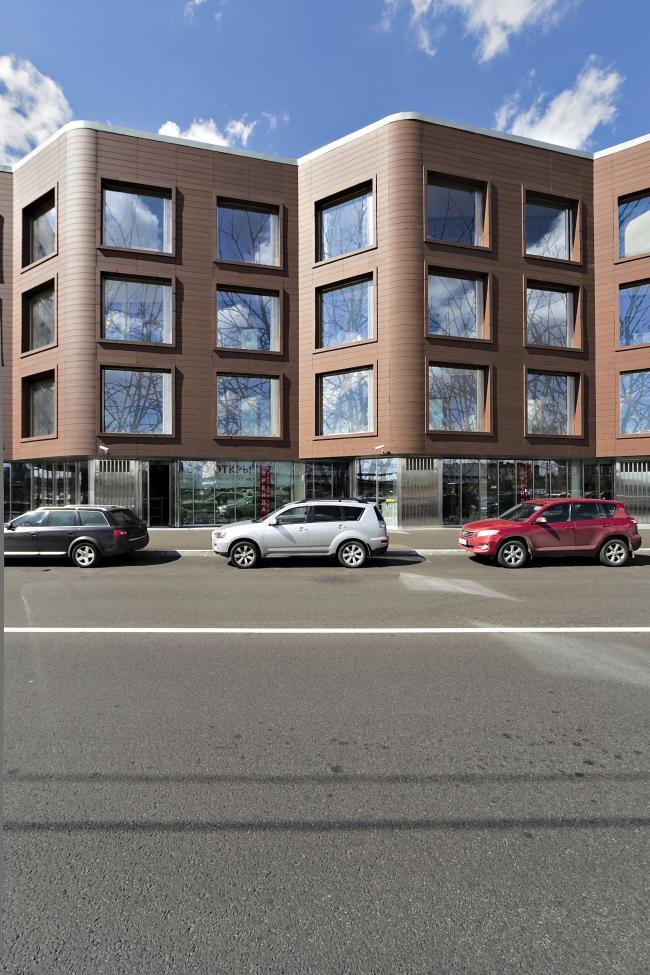 Жилой комплекс и офис на Пречистенской набережной. Реализация, 2015 Фото: А.Лерер. © АБ Остоженка