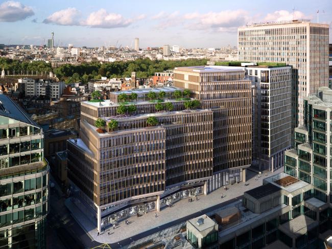 Деловой комплекс Zig Zag Building (Лондон, Великобритания). Lynch Architects. Изображение предоставлено WAF